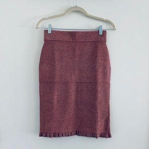Club Monaco Italian Yarn Pencil Skirt XS